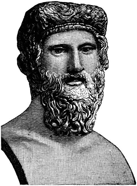 Bust of Plato   ClipArt ETC