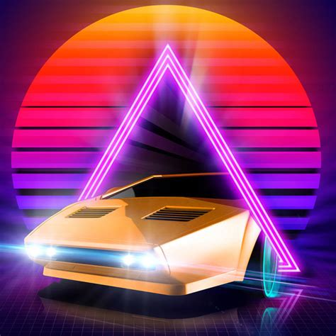 Neon Drive for iPhone (2015) - MobyGames