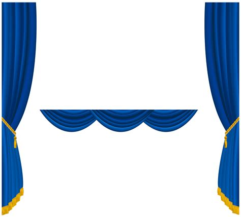 Curtains clipart - Clipground