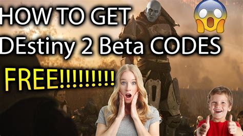 HOW TO GET DESTINY 2 BETA CODES FREE!! UNLIMITED (WORKING